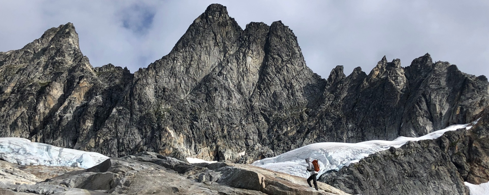approach, southern pickets, picket range, skagit, pnw, alpinism, moutaineering, east ridge
