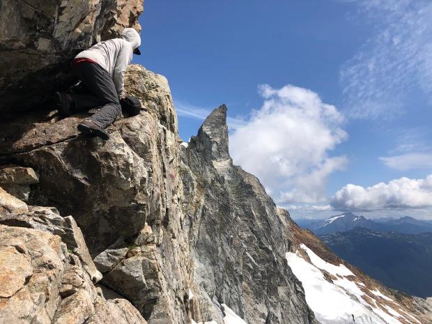 Picket Range, barrier crossing, Tim Black, Inspiration Peak